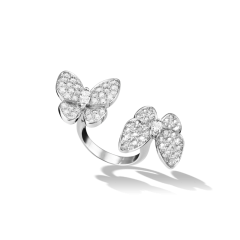 Кольцо Бабочки в стиле Van Cleef