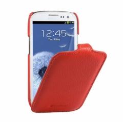 Чехол книжка для Samsung Galaxy S3 красный