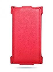 Чехол книжка для Nokia Lumia 730 красный