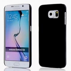 Чехол для Samsung Galaxy S6 Edge черный не прозрачный