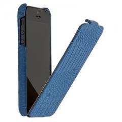 Чехол книжка Borofone для iPhone 5 синий