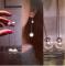 Серьги Dior шарики висячие 925