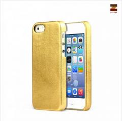 Накладка Zenus для iPhone 5S золотая