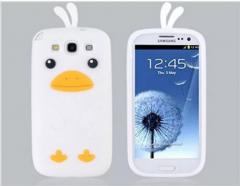 Чехол цыпленок для Samsung Galaxy S3 белый