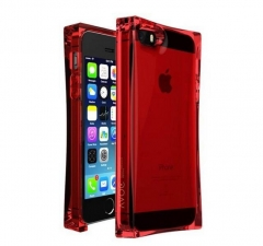 Чехол Ice Cube для iPhone 5S красный