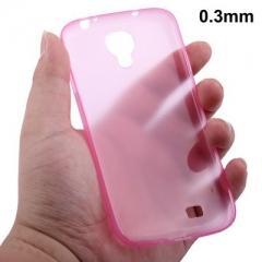 Ультратонкий чехол для Samsung Galaxy S4 розовый