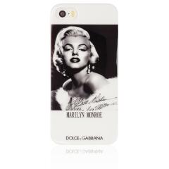 Чехол D&G для iPhone 5S Мерлин Монро
