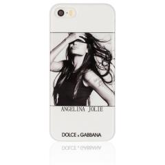 Чехол D&G для iPhone 5S Анджелина Джоли