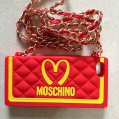 Чехол Moschino McDonald's для iPhone 5S сумочка