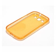Чехол силиконовый для Samsung Galaxy S3 оранжевый