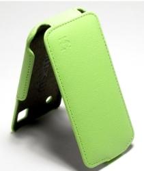 Чехол книжка для Nokia Lumia 520 зеленый