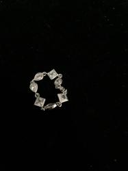 Мягкое кольцо в стиле Monaco