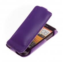 Чехол книжка для HTC One 2 Mini фиолетовый