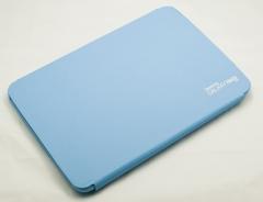 Чехол пластиковый для Samsung Galaxy Note (10.1) голубой