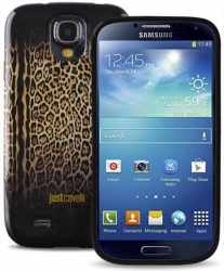 Чехол Just Cavalli для Galaxy S4 коричневый