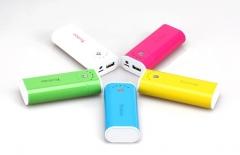 Аккумулятор Yoobao Power Bank 5200 mAh 5 цветов