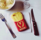 Чехол Moschino McDonald's для iPhone 5S