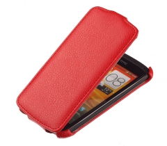 Чехол книжка для HTC One 2 Mini красный