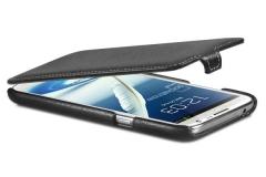Чехол-книжка Leather Case для Samsung Galaxy Note 2, черный