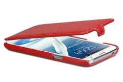 Чехол-книжка Leather Case для Samsung Galaxy Note 2 красный