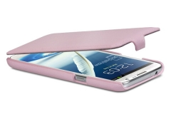 Чехол-книжка для Samsung Galaxy Note 2 розовый