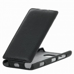 Чехол книжка для Sony Xperia Z1 черный