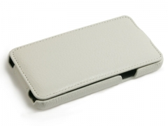 Чехол - книжка Ultra-thin Leather Case для Samsung Galaxy S 2, белый