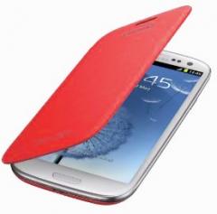 Чехол Flip Case для Samsung Galaxy S3 красный