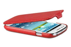Чехол - книжка для Samsung Galaxy S3 mini красный