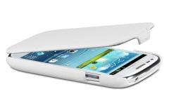 Чехол - книжка для Samsung Galaxy S3 mini белый