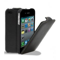 Чехол-книжка Melcko для iPhone 4S черный