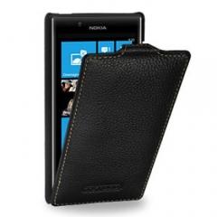 Чехол книжка для Nokia Lumia 520 черный