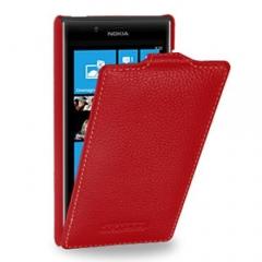 Чехол книжка для Nokia Lumia 820 красный