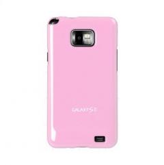 Чехол накладка Ultra-thin Original Plastic Case для Samsung Galaxy S 2, розовый