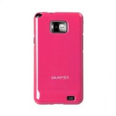 продается Чехол накладка Ultra-thin Original Plastic Case для Samsung Galaxy S 2, малиновый