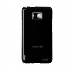 Чехол накладка Ultra-thin Original Plastic Case для Samsung Galaxy S 2, черный