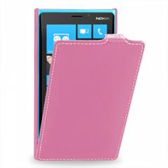 Чехол книжка для Nokia Lumia 920 розовый