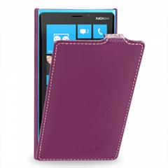Чехол книжка для Nokia Lumia 920 фиолетовый