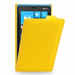 Чехол - книжка для Nokia Lumia 920 желтый