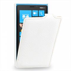 Чехол книжка для Nokia Lumia 920 белый