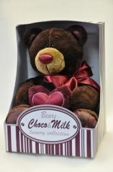 Мишка Choco в коробке 20 см