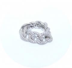 Мягкое кольцо в виде цепи