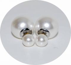 Серьги Mise En Dior жемчужные