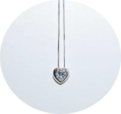 Кулон сердечко в стиле Tiffany