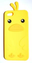 Чехол цыпленок для iPhone 5 желтый