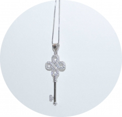 Кулон Ключик в стиле Tiffany
