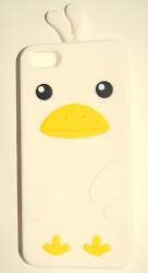 Чехол цыпленок для iPhone 5S белый