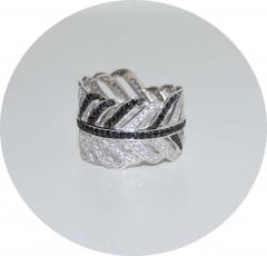 Кольцо Перо 925