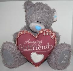 Мишка Тедди с сердцем 36см