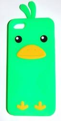 Чехол цыпленок для iPhone 5 салатовый